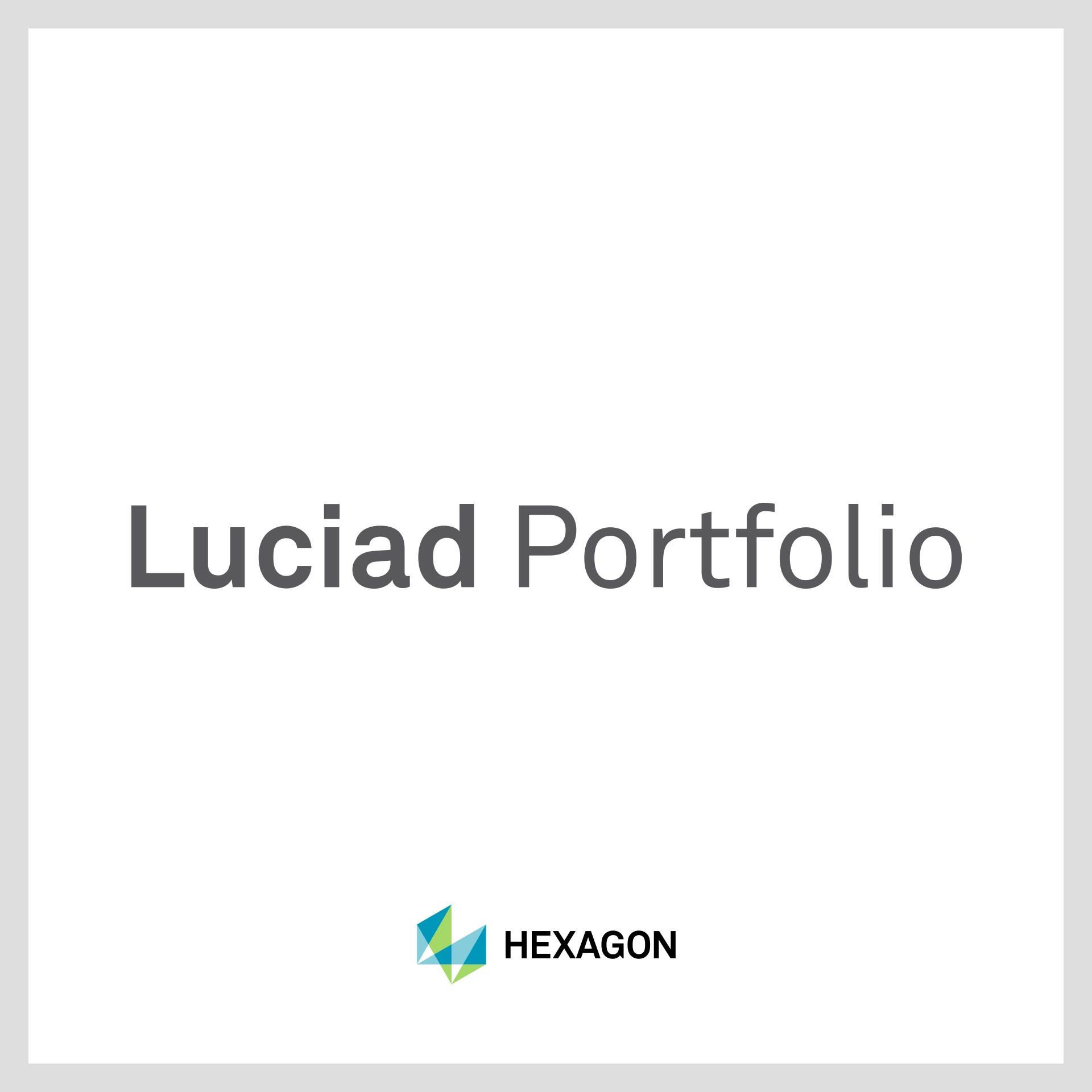 Luciad Portfolio technologie