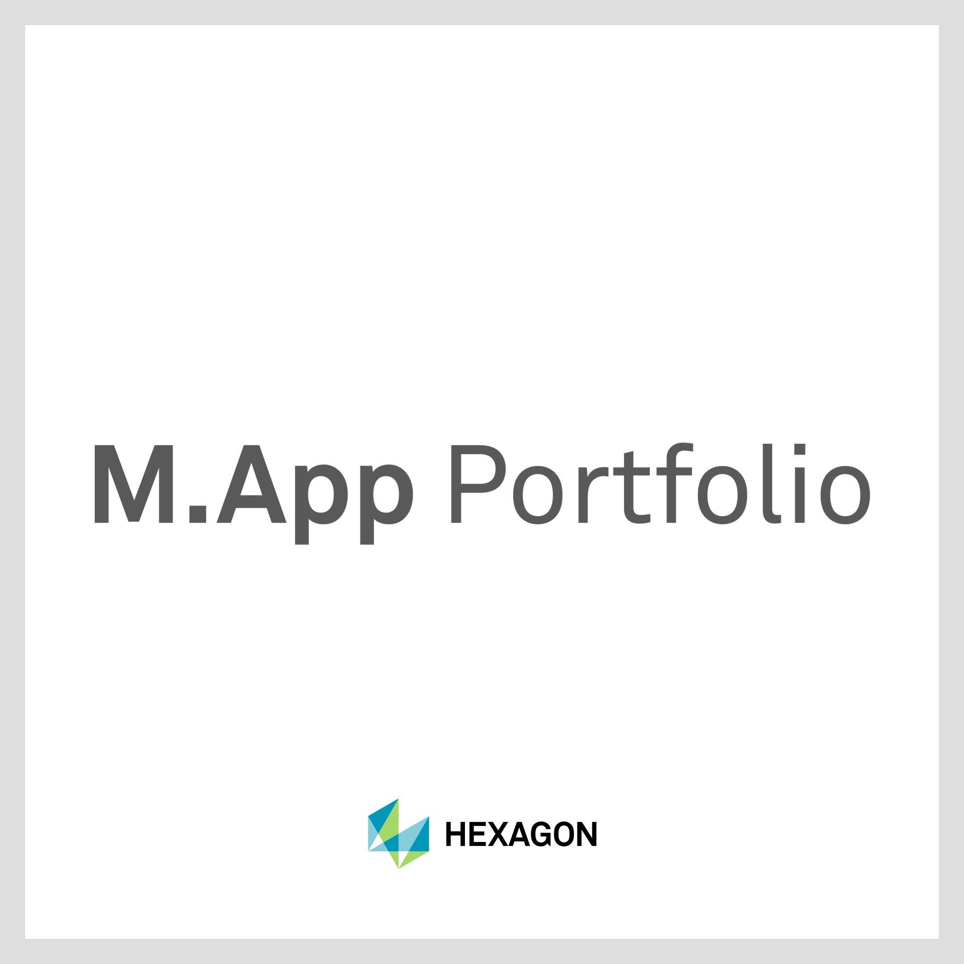 M.App Portfolio technologie